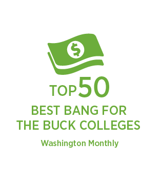 Illinois State University was ranked top 50 best bang for the buck colleges.
