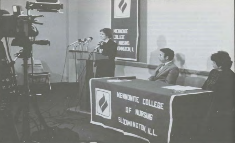 Mennonite College of Nursing established.